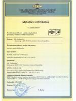 FLRY-B sertifikatas LS801.B19017