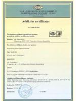 R2 (Scania) sertifikatas *