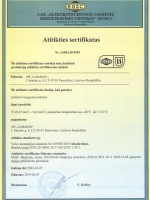 T3 (Volvo, ISO 6722-1) sertifikatas