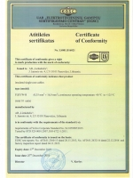 FLRYW-B certificate
